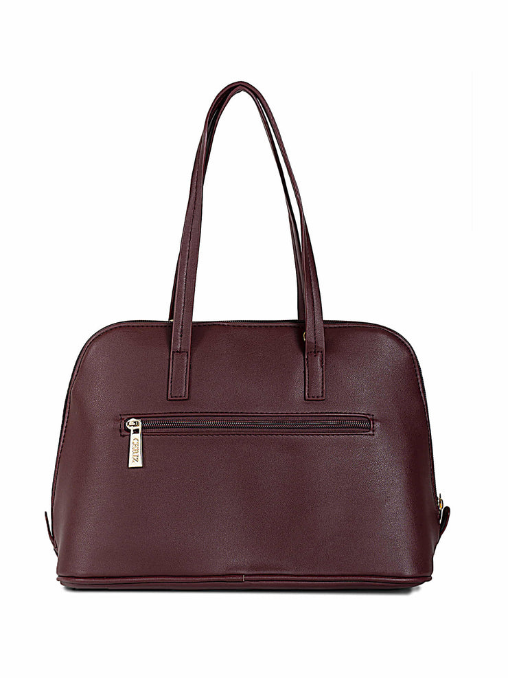Francesca Burgundy Handbag 2