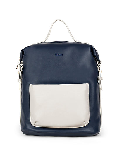 Brielle Trendy Navy Backpack