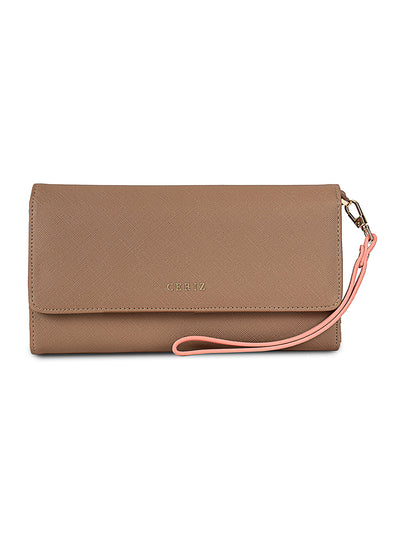 Heloise Taupe Casual Wallet
