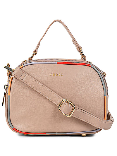 Pauline Medium Beige Sling Bag