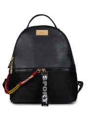 Bernice Sporty Black Backpack