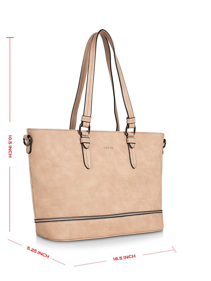 Meredith Fab Light Pink Tote 2