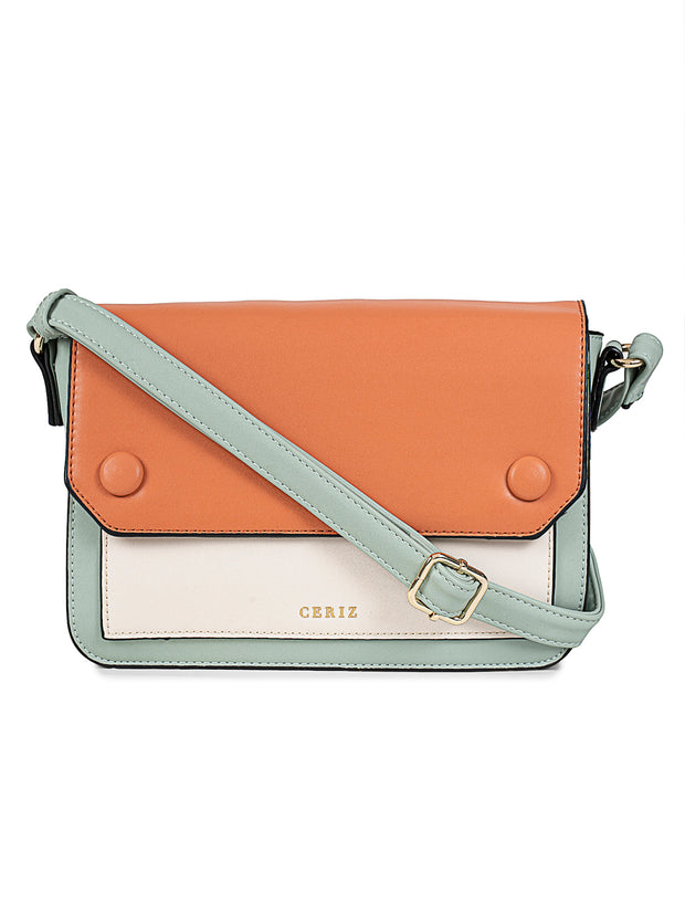 Isobel Medium Mint Sling Bag