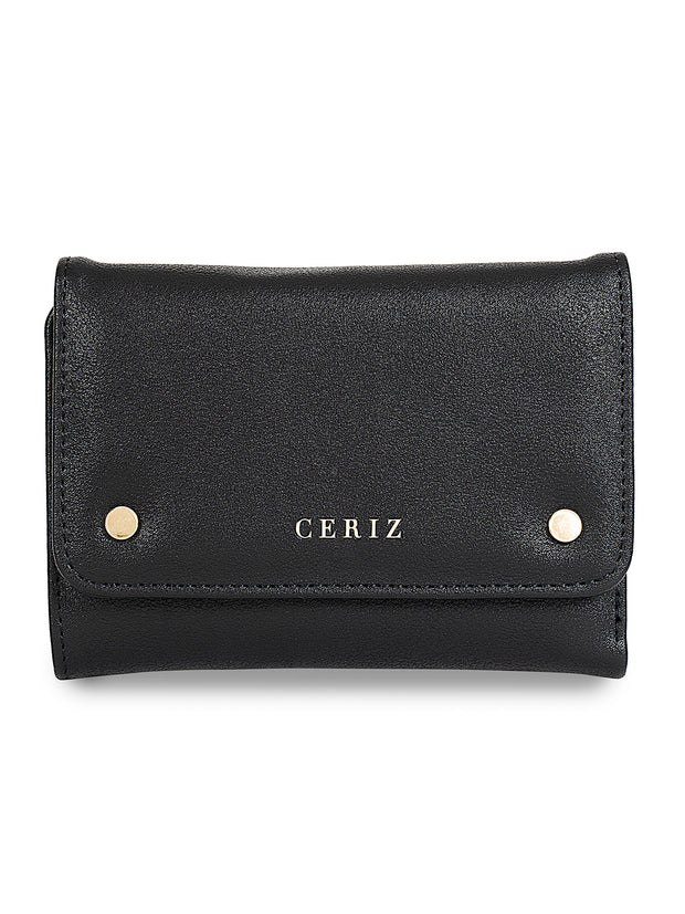 Monique Classic Black Wallet