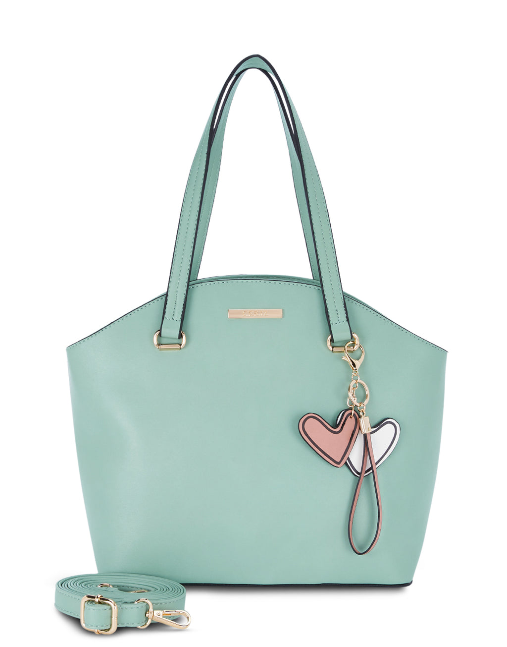 Alair Solid green Tote