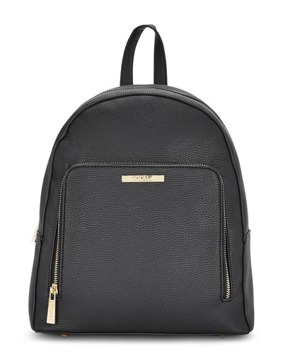 Allura Casual Black Backpack