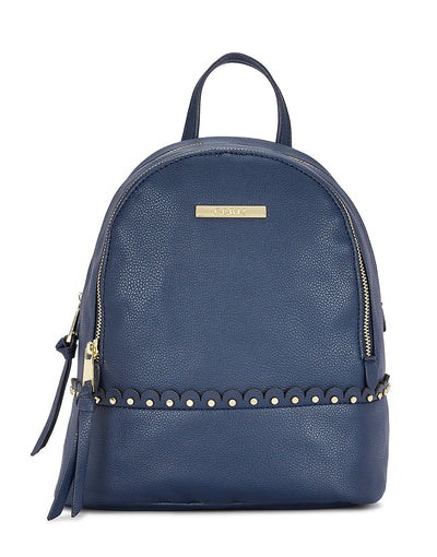 Avril Navy Backpack