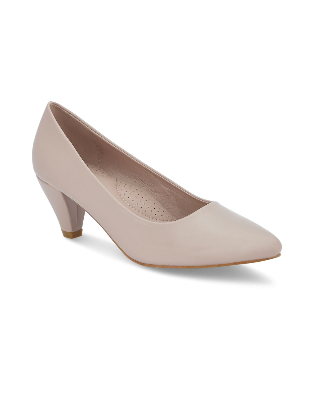 Renee Nude Pointed-Toe Pumps