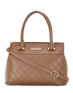 Bonnie Dapper Tan Handbag