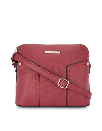 Wallace Red Sling Bag
