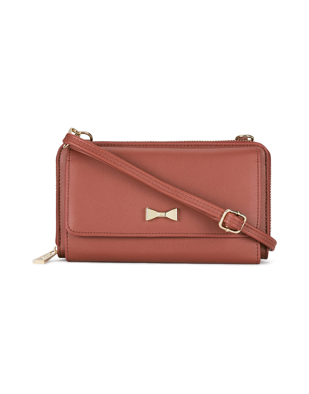 Madelina Rust Sling Wallet
