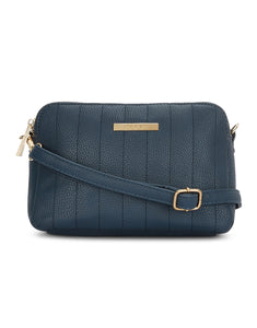 Adalene Navy Sling Bag