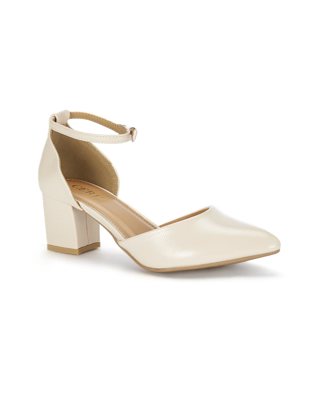 Calliope Sleek Beige Pumps