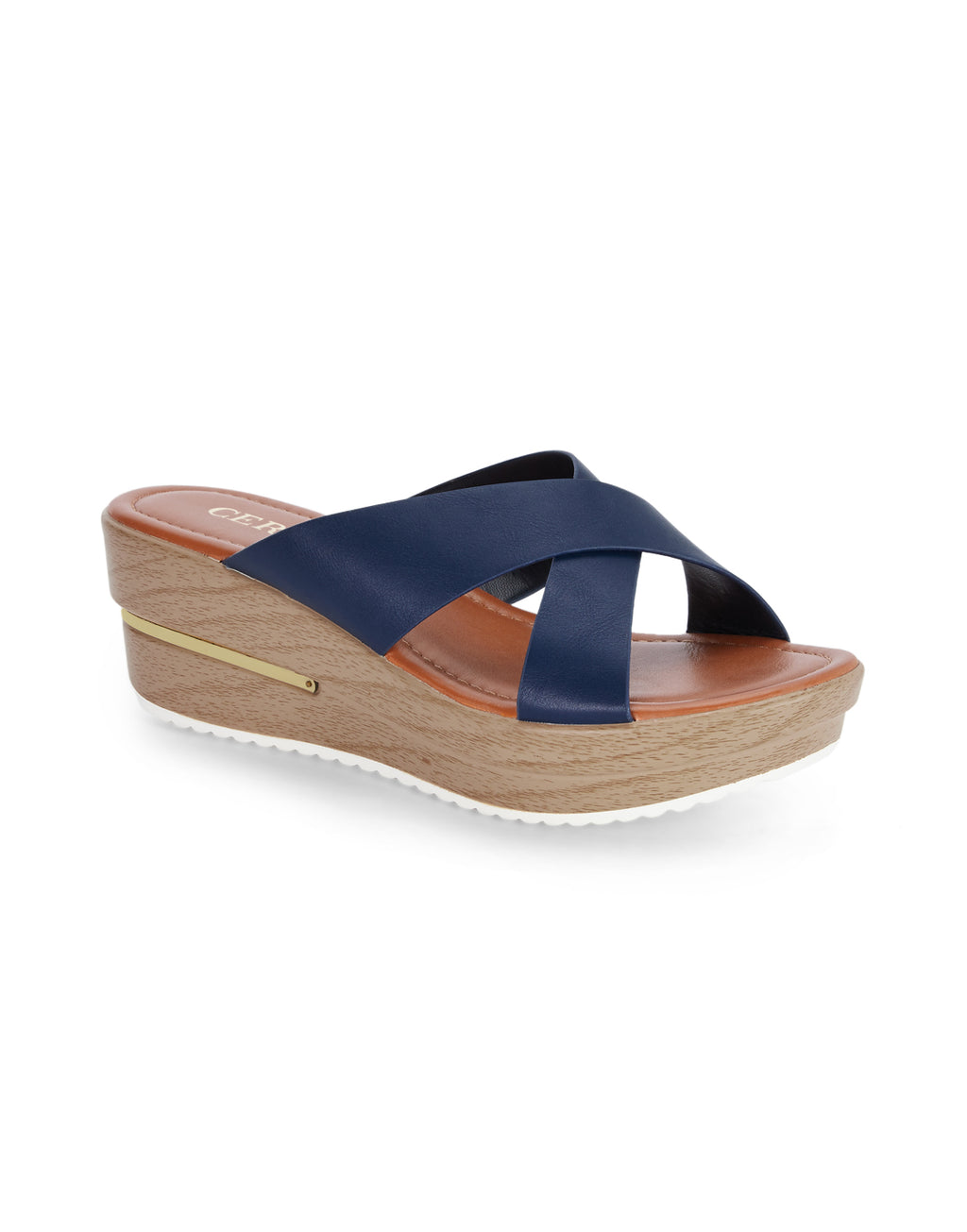 Madeline Graceful Navy Sandals