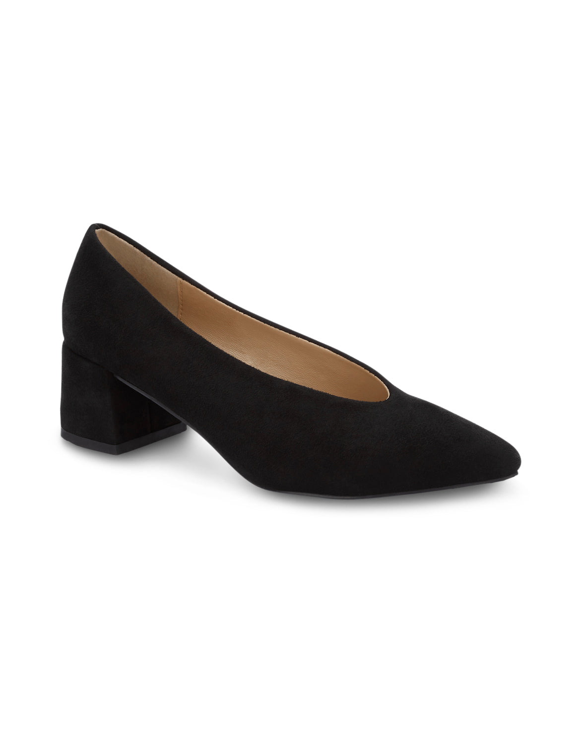 Berthe Black Pointed Toe Pumps