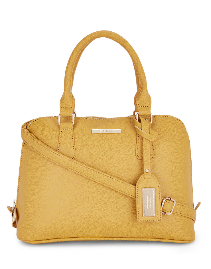 Shantel Yellow Handbag