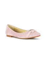 Adele Sophisticated Light Pink Ballerinas