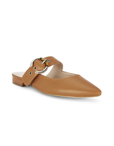 Madeleine Tan Slip-on Loafers