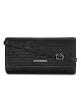 Marteena Black Clutch