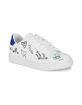 Juno Graffiti White Sneakers