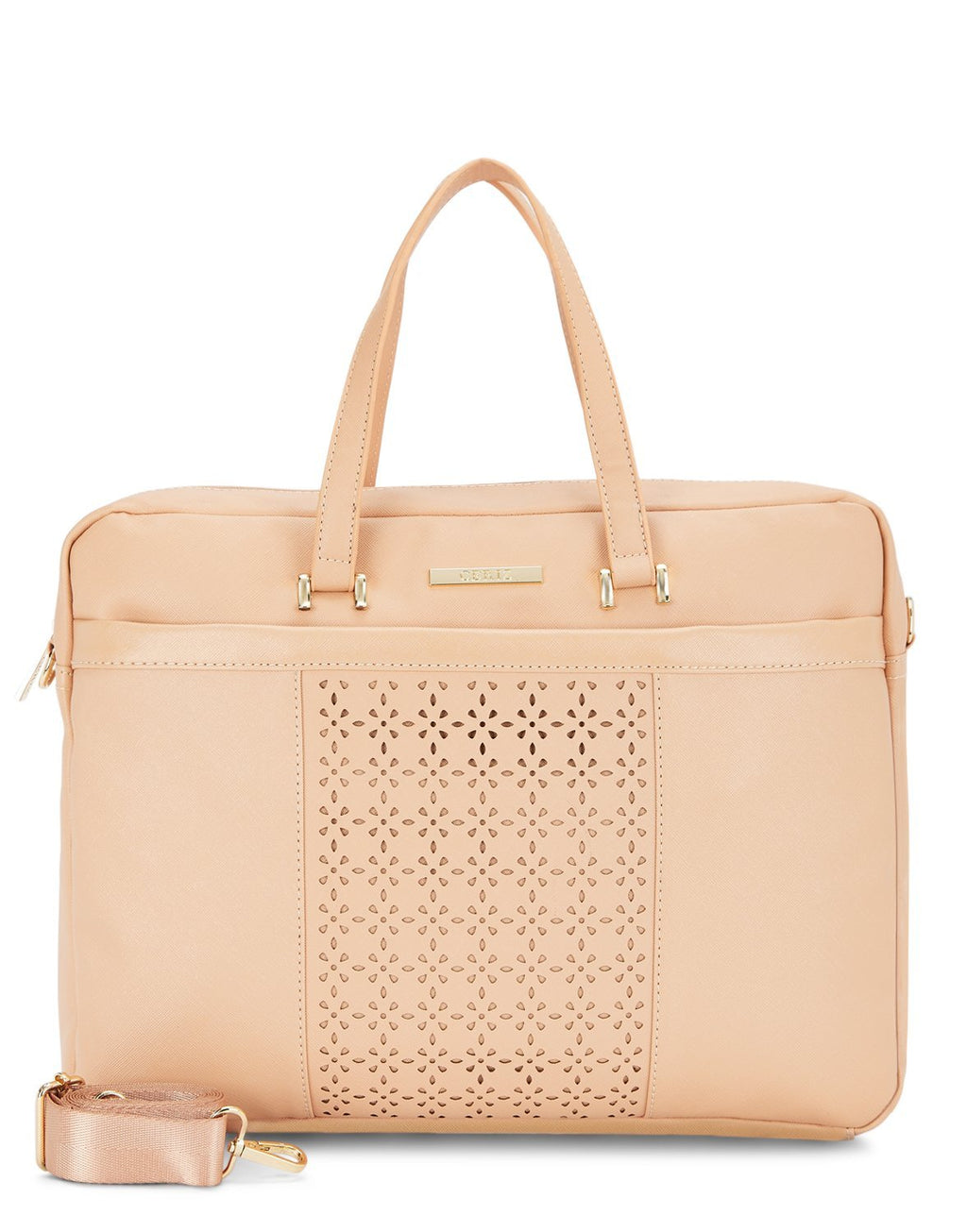 Anais Laptop Blush Bag