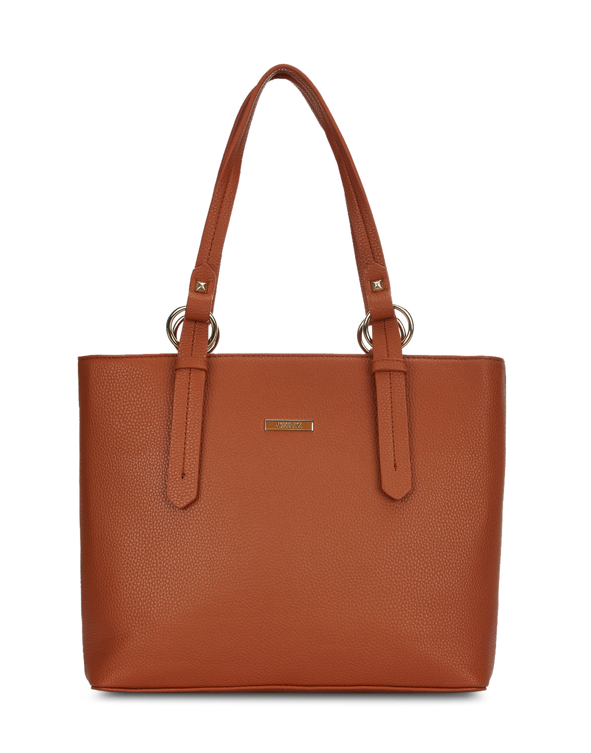 Justyne Tan Double Handle Tote