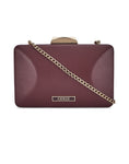 Marmion Burgundy Clutch