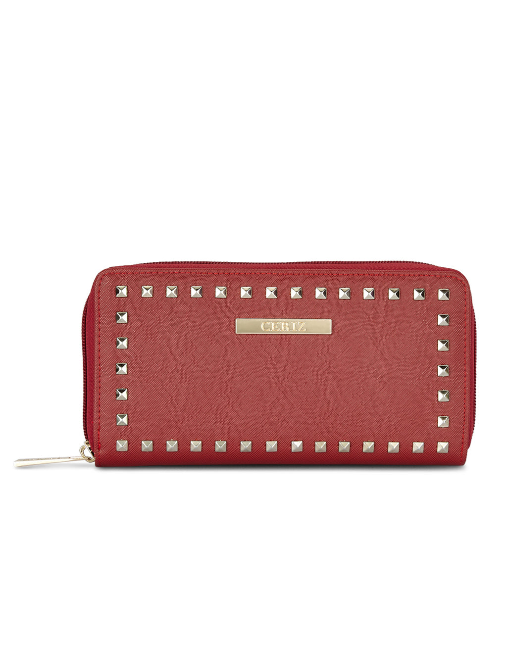 Vachel Red Long Wallet