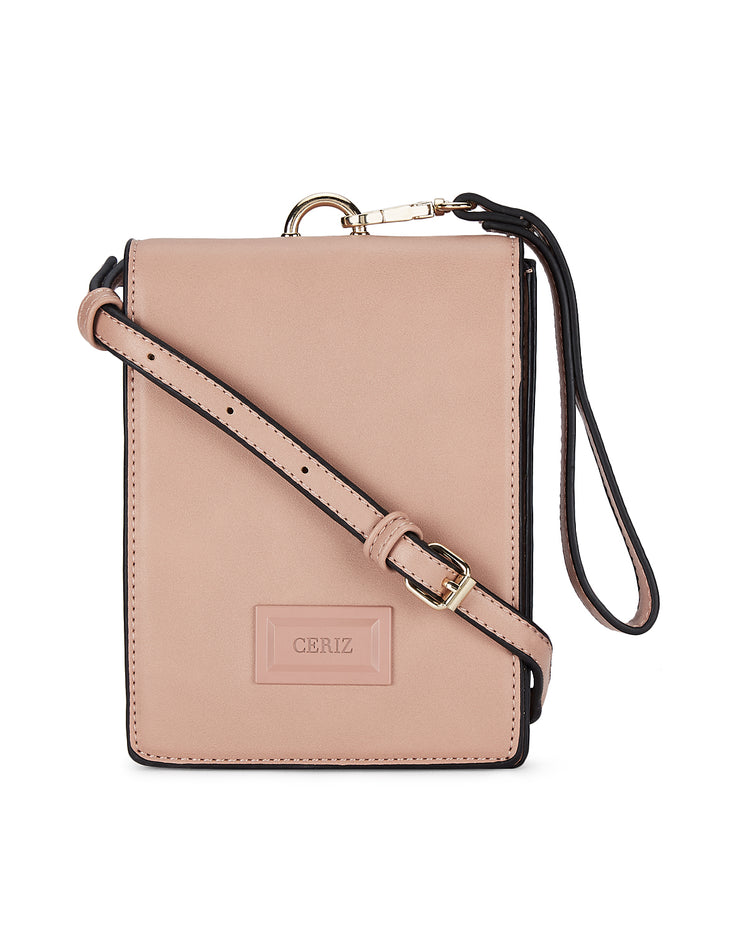Maya Powder Pink Sling Bag