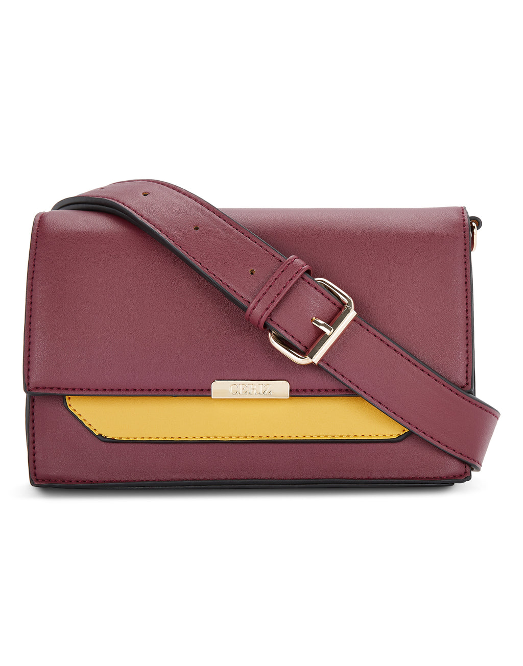 Eleanora Burgundy Sling Bag