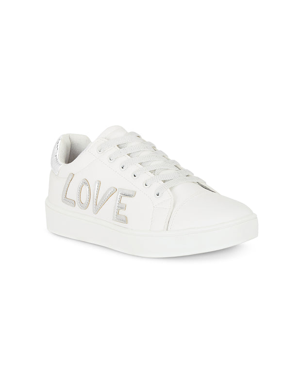 Lucille White Sneakers