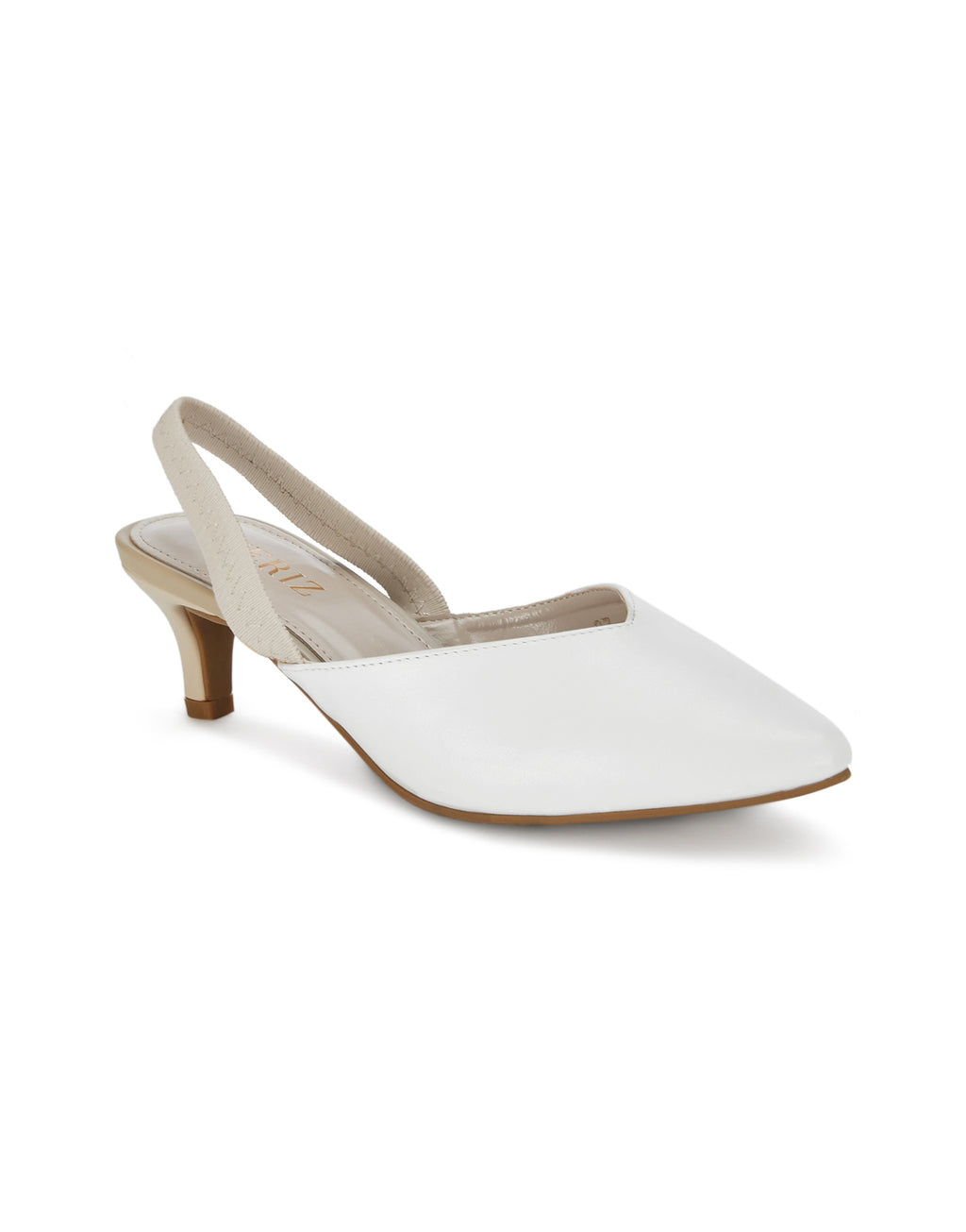 Frances Beautiful White Pumps