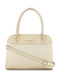 Quincy Gold Handbag
