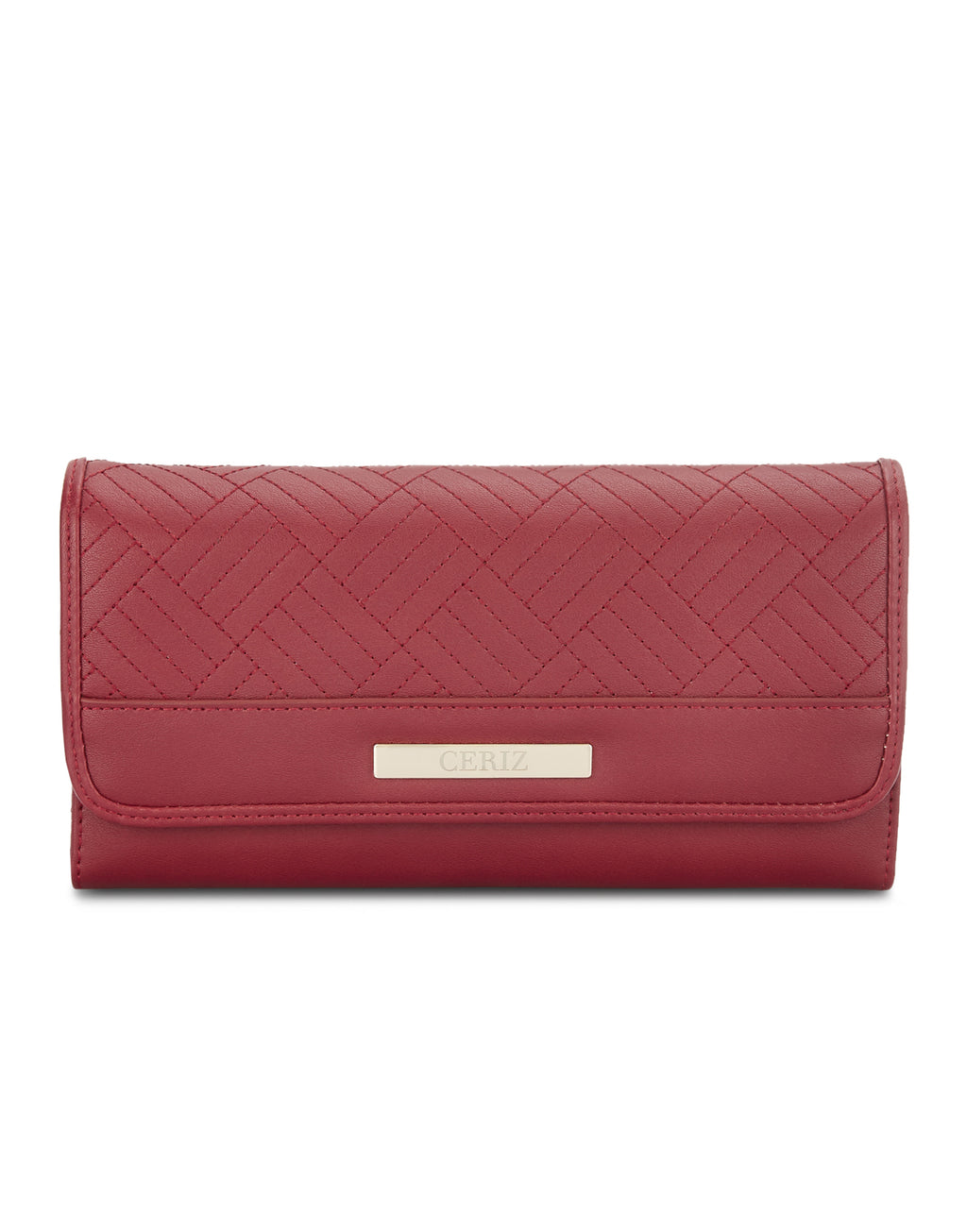Alain Red Wallet