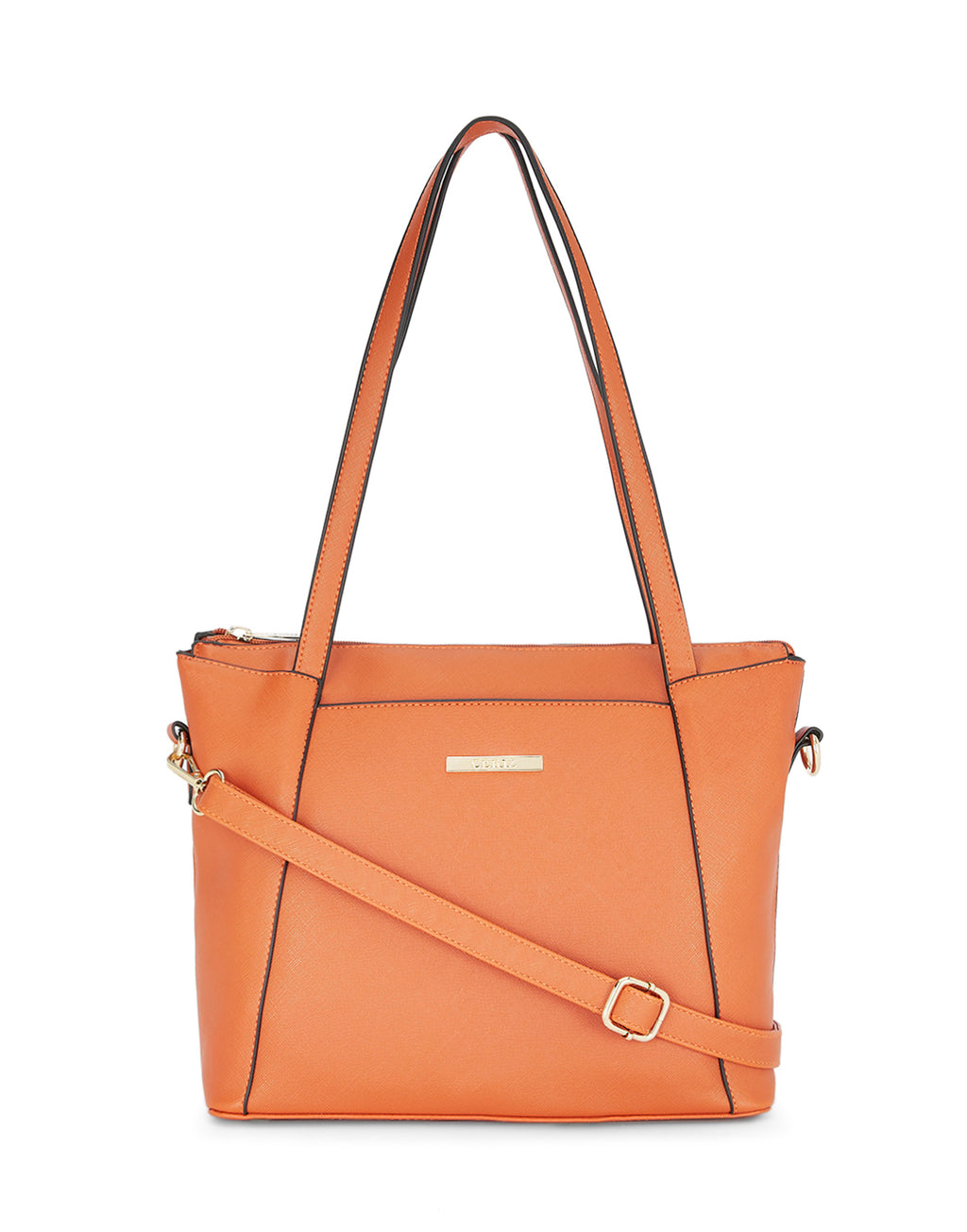 Margit Textured Rust Handbag