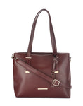 Marceau Brown Handbag