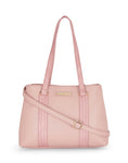 Alyssa Double Compartment LT. Pink Handbag