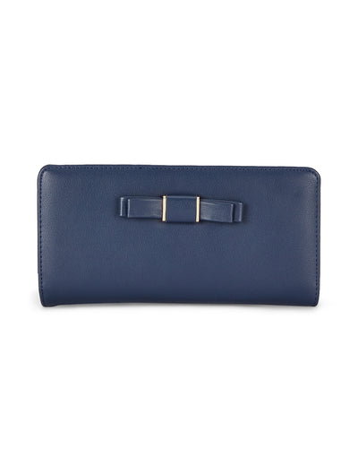 Florence Navy Wallet