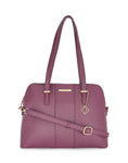 Mathilda Burgundy Handbag