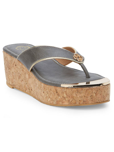 Ella Open Toe Grey Sandals
