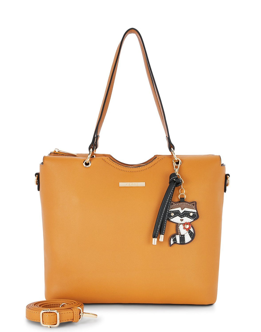 Felicia Timeless Mustard Tote