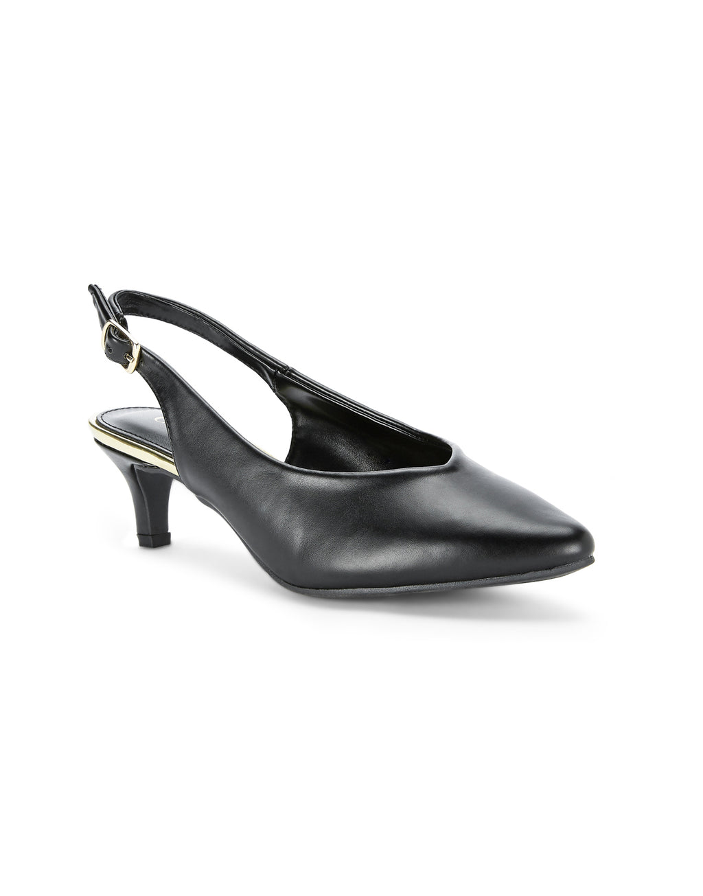 Claire Vintage Black Pumps