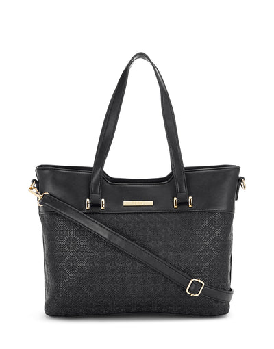 Helo Black Handbag