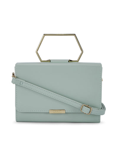 Adelise Mint Clutch Bag