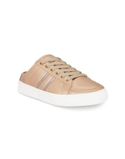 Satine Rose Gold Slip-on Sneakers