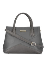 Zuri Grey Detachable Strap Handbag