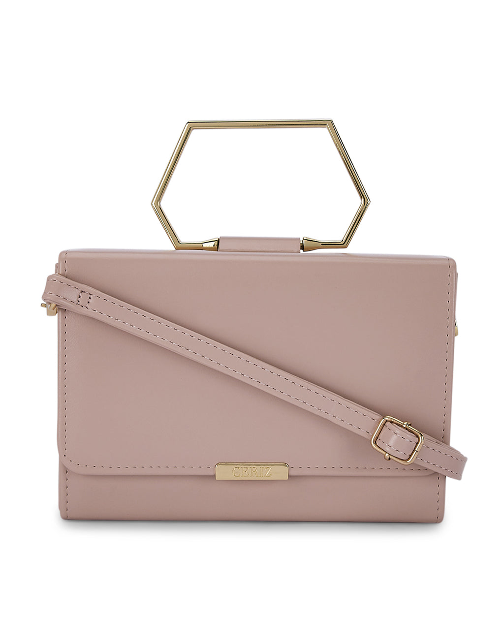 Adelise Pink Clutch Bag