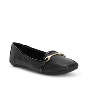 Aurelie Black Loafers