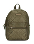 Leona Olive Zip Backpack