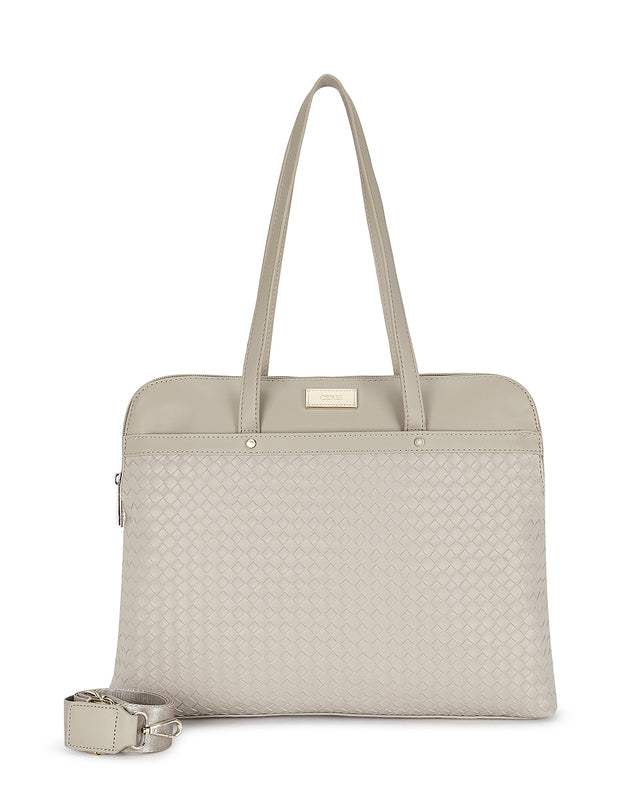 Mila Beige Laptop Bag